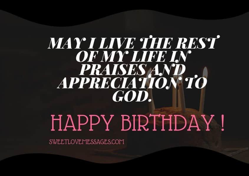 Best Happy Birthday to Me Prayers