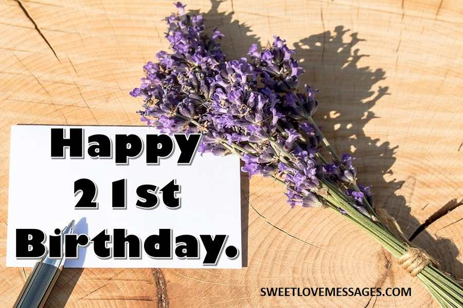 21st Birthday Captions