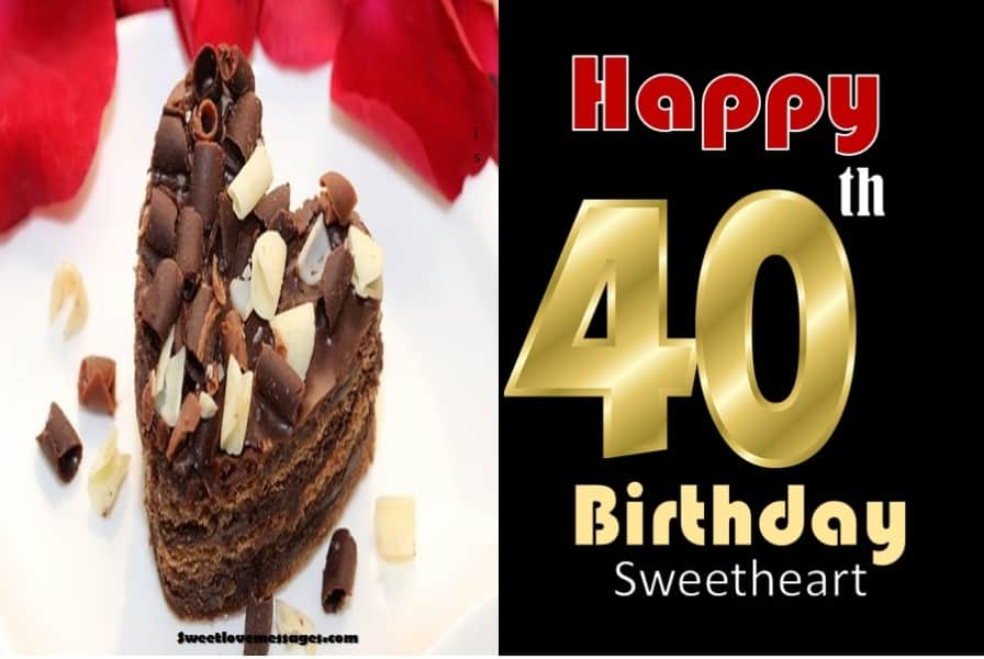 40th Birthday Wishes for Husband