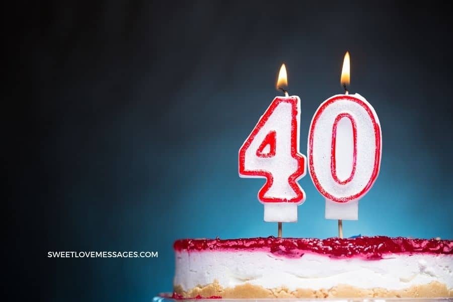 40th Birthday Wishes for Sister (