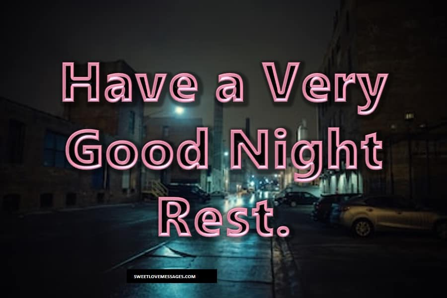 Best Goodnight Message Ever