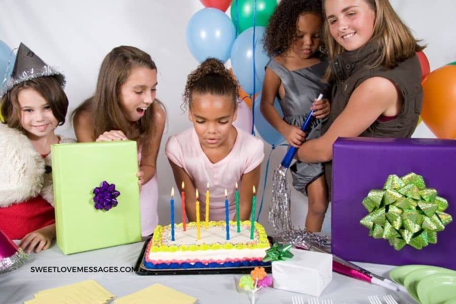 Best Opening Prayers for 7th Birthday Party