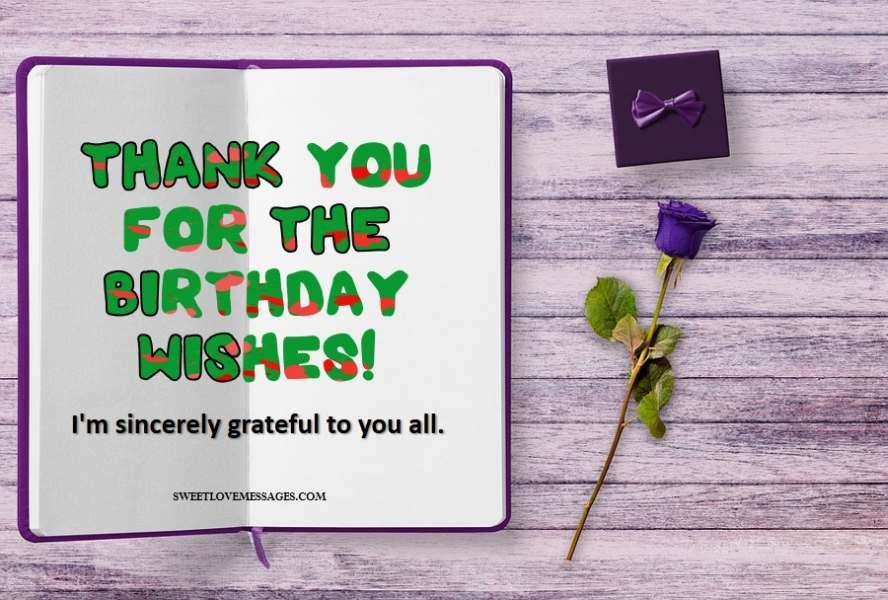 Appreciation /& Love Birthday