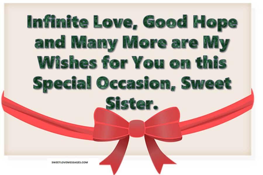 Birthday Prayer Message to a Sister
