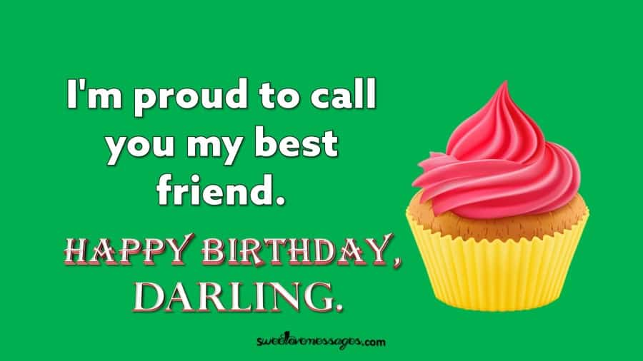 Birthday Wishes for Best Friend Like Sister