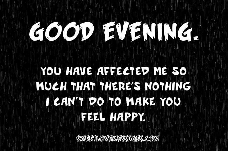Good Evening I Love You