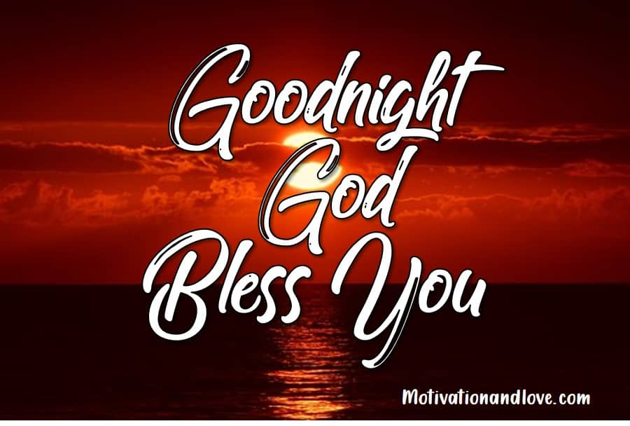 2020 Best Goodnight God Bless I Love You Quotes - Sweet Love Messages