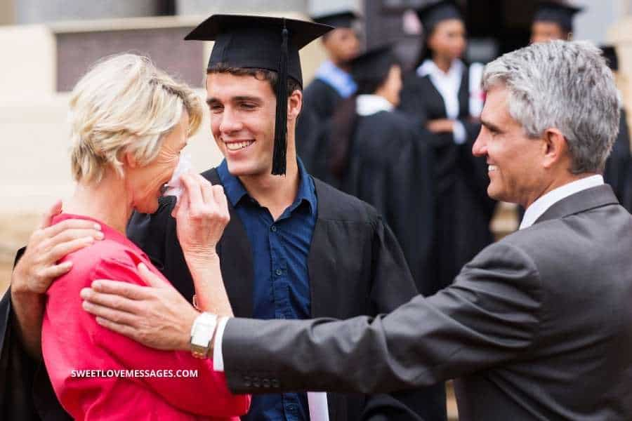 Graduation Quotes from Parents to Son