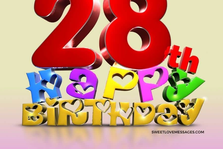 Happy 28th Birthday to Me Wishes Quotes