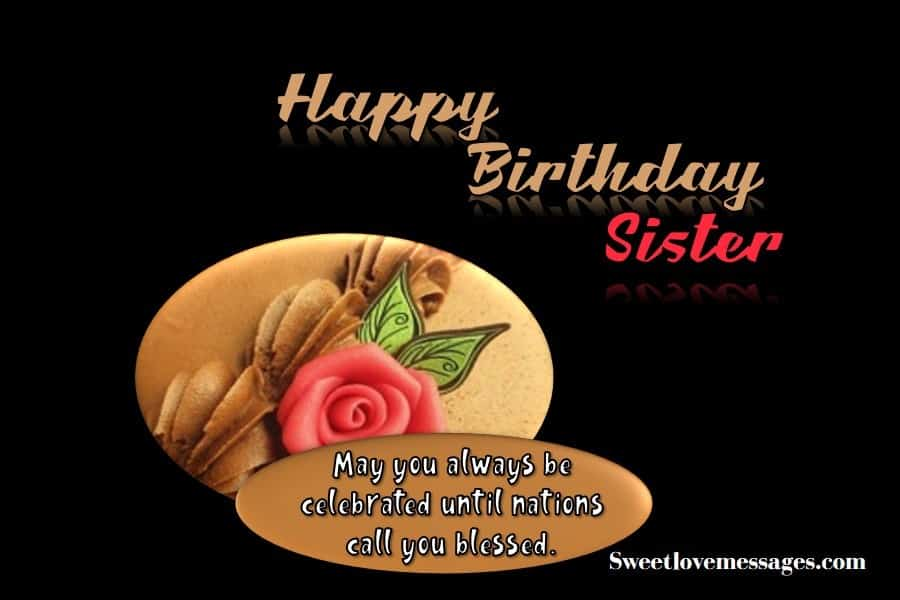 Outstanding 2020 Best Happy Birthday Prayers For My Sister With Love Sweet Funny Birthday Cards Online Alyptdamsfinfo