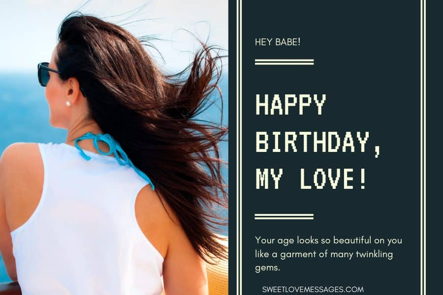 Happy Birthday to My Girlfriend Messages