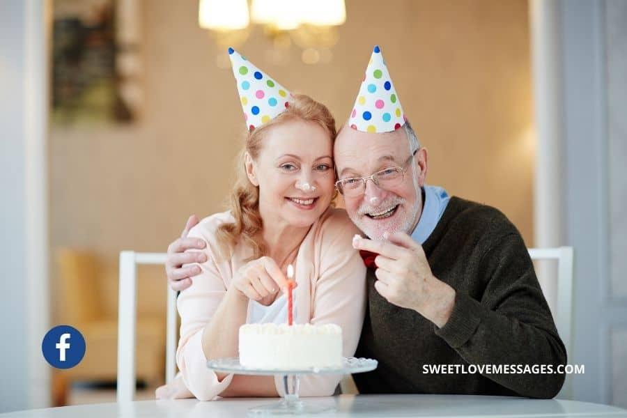 Happy Birthday to My Husband Facebook Status