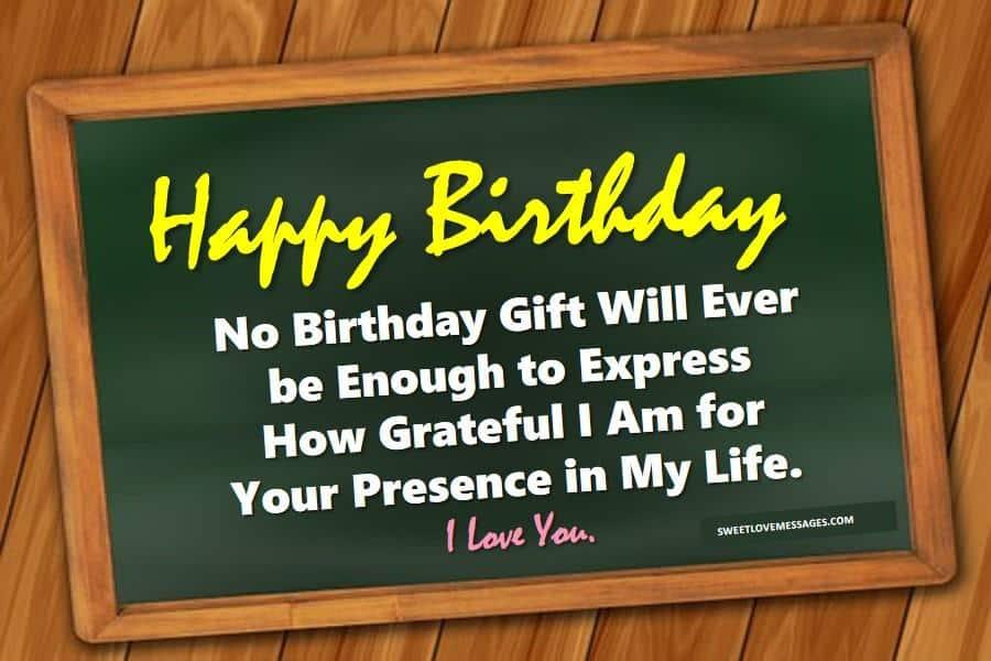Happy Birthday to the Love of My Life