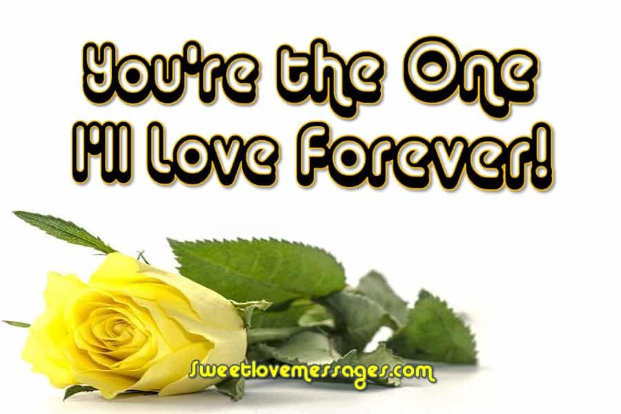 I Love You From the Bottom of My Heart Message