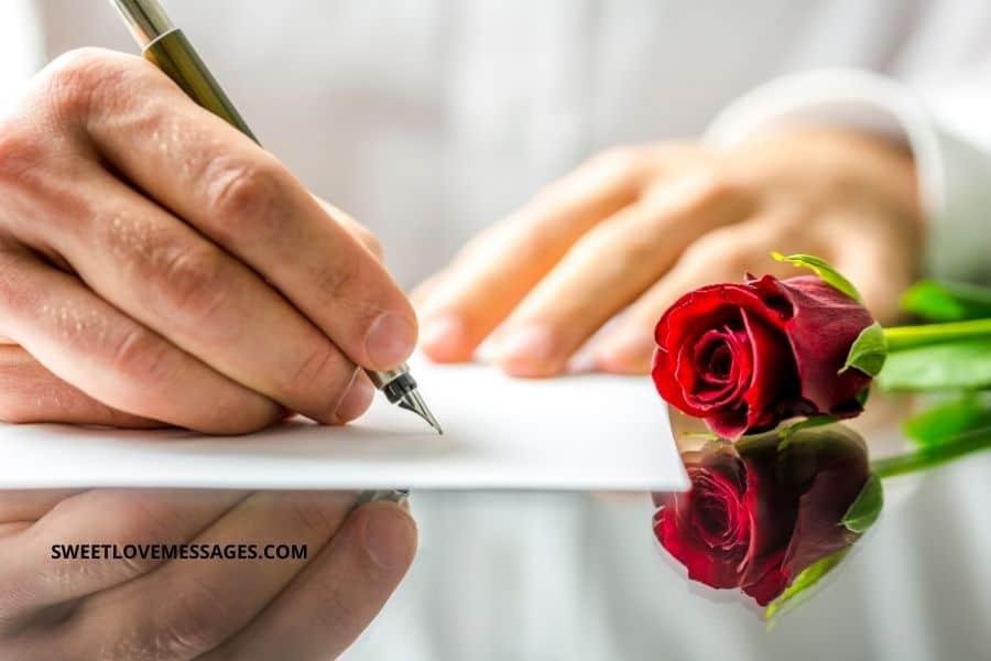 Romantic Love Letter Samples for Her or Him from the Heart
