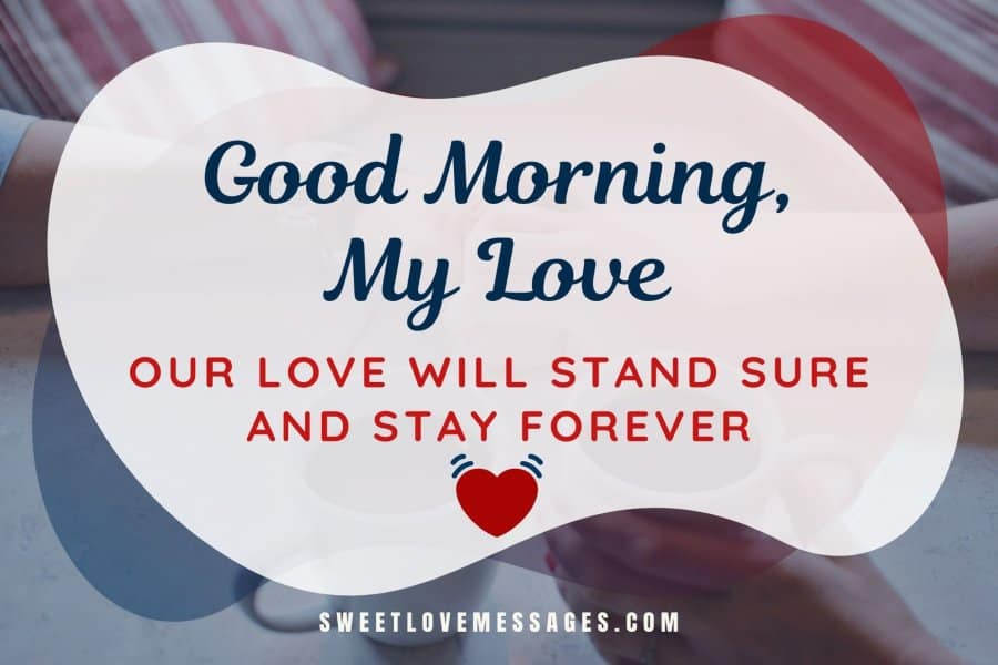 Sweet Cute Good Morning Texts Messages for Lover