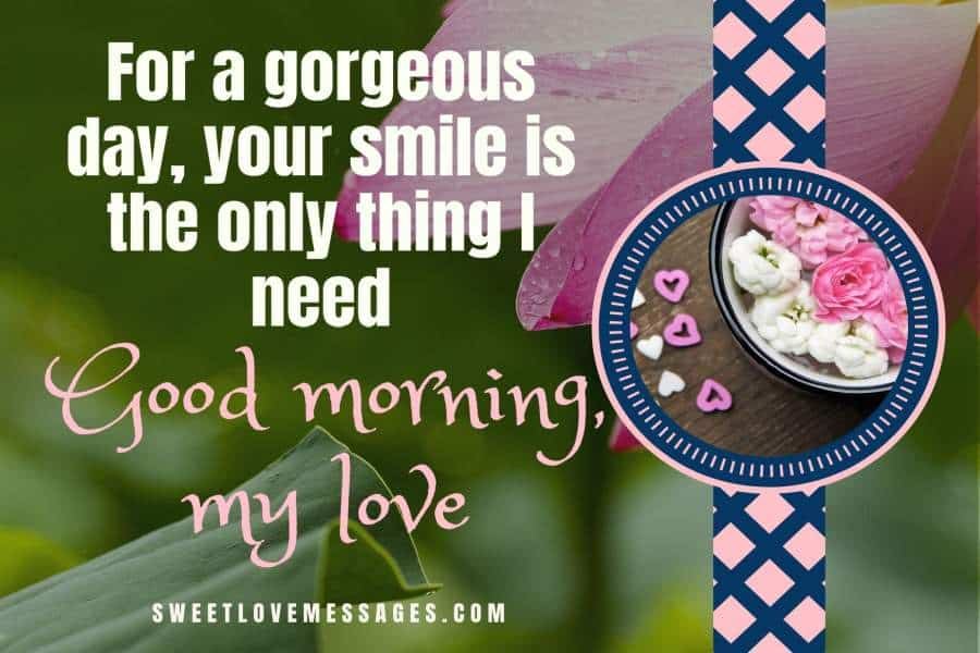 Sweet Cute Goodmorning Messages For Lovers