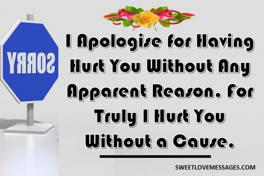 An Apology Letter to A Friend