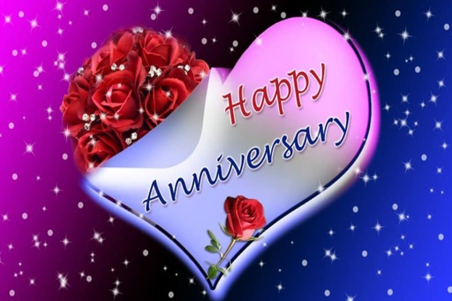 2020 Happy Wedding Anniversary Wishes for Friends - Sweet Love Messages