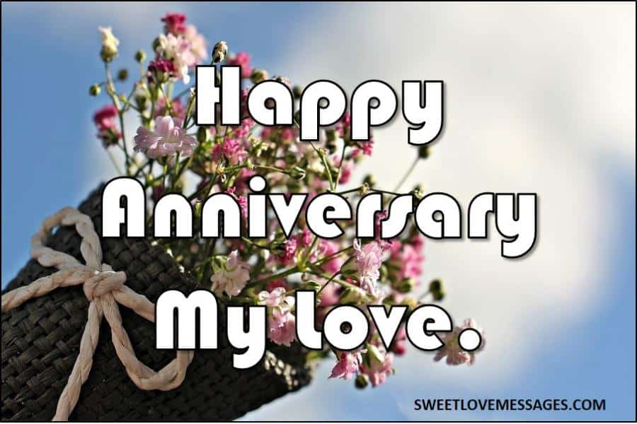 Anniversary Wishes from Wife to Husband