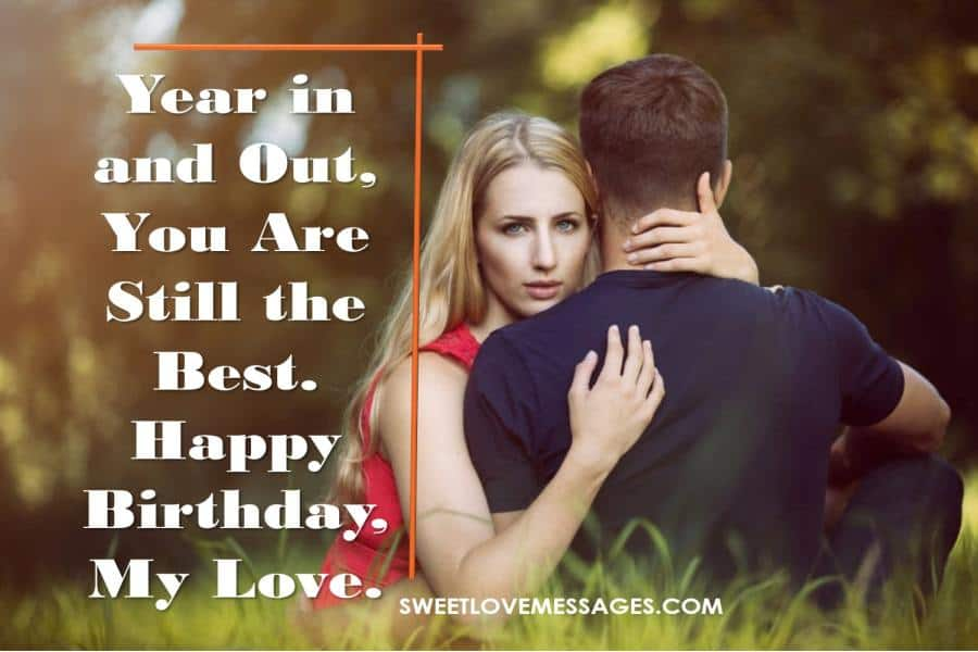 Best Birthday Wishes for Lover