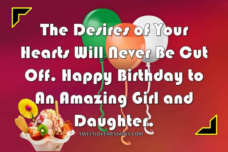 Best Happy Birthday Wishes from Mother to Daughter