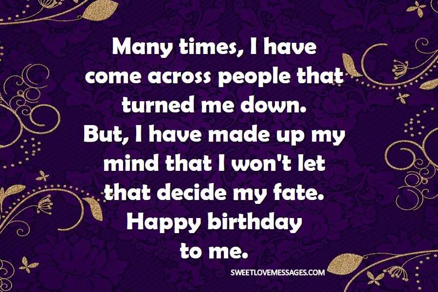 Birthday Dp for Myself