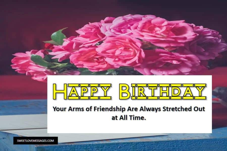 Birthday Letters to a Friend