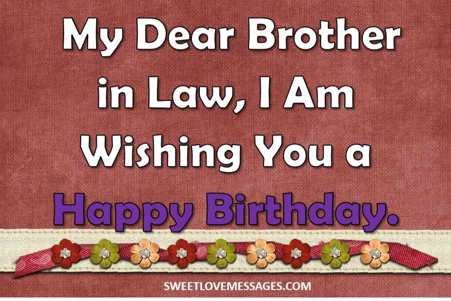 Birthday Message for Brother in Law