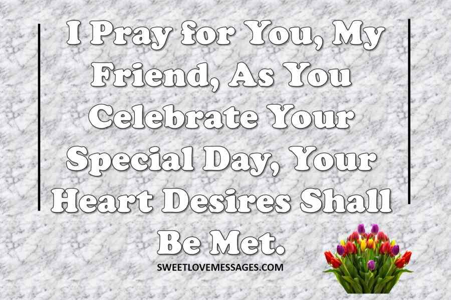 Birthday Prayer for Dear Friend