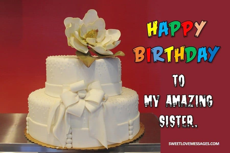 Brilliant 2020 Best Birthday Status For Sister On Whatsapp Sweet Love Messages Funny Birthday Cards Online Elaedamsfinfo