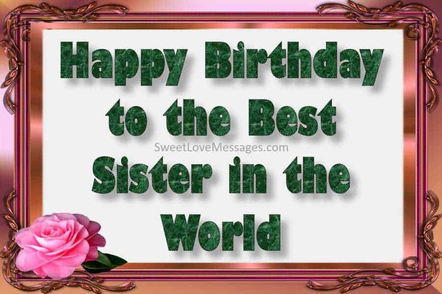 2020 Happy Birthday Wishes For My Elder Sister Older Sister