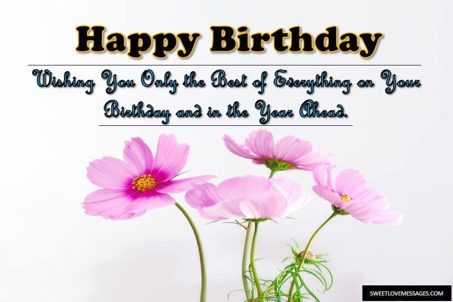 Birthday Wishes for Inspirational Person