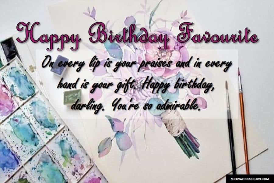 Birthday Wishes for Someone You Admire