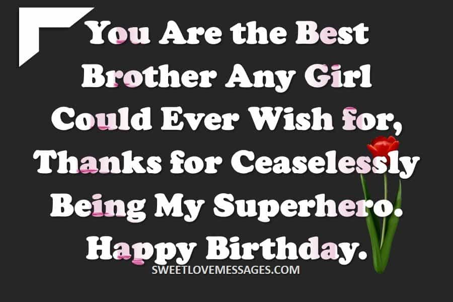 Caption for Brother's Birthday