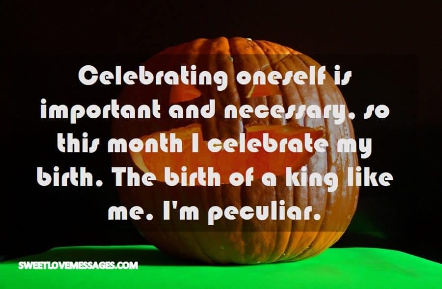 Celebrating oneself is important and necessary