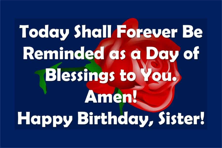 2020 Christian Birthday Wishes For Sister Religious Bday Wishes For Her Sweet Love Messages
