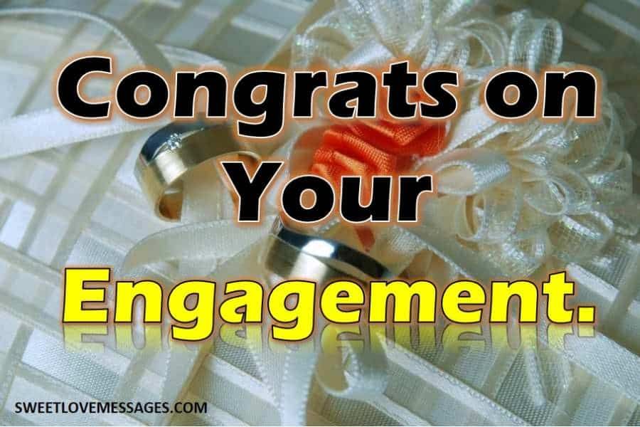 Engagement Wishes for Co-worker or Colleague