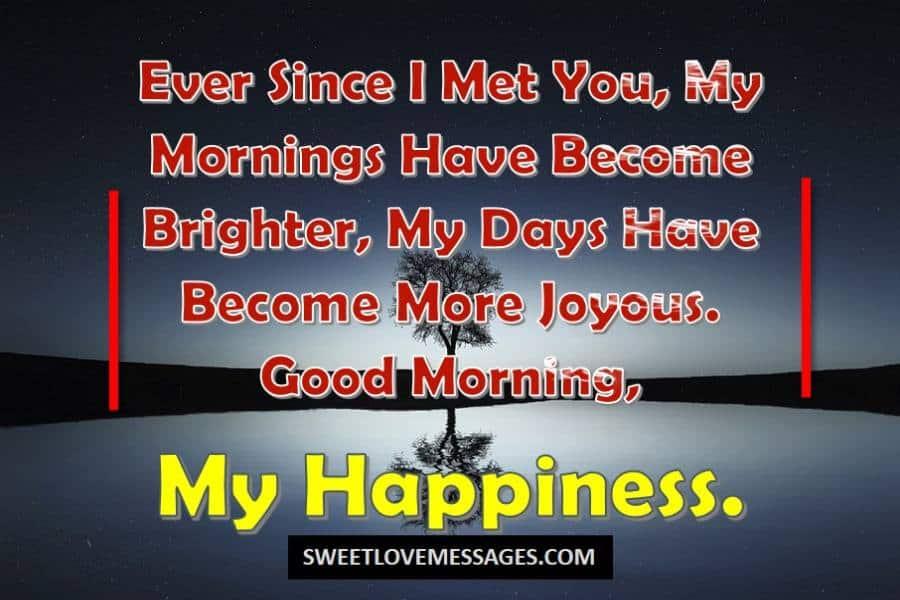 Good Morning Darling
