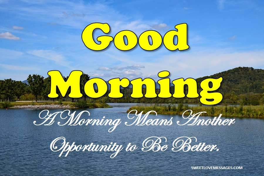 Good Morning Loving You Message