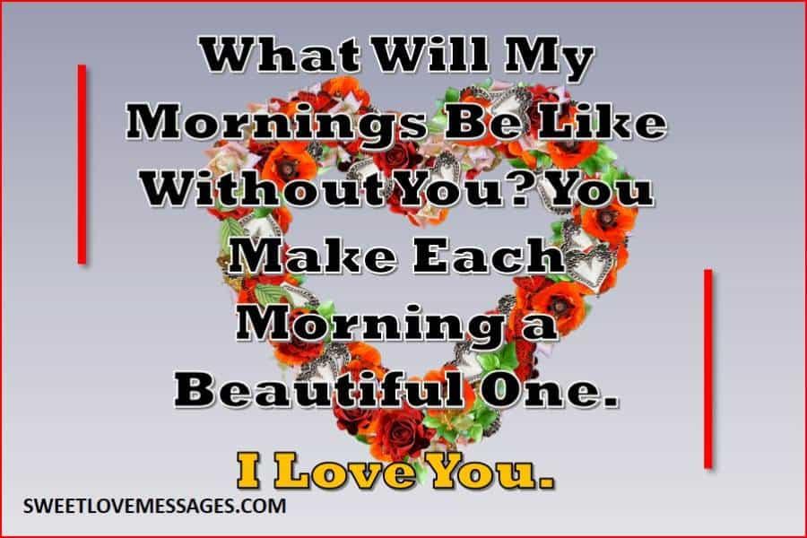 Good Morning My Sweet Darling