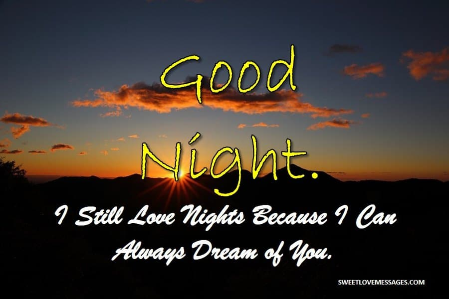 Good Night Messages for Your Crush