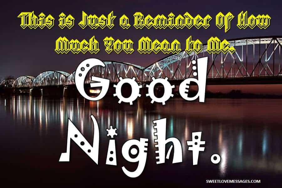 Good Night Sweet Dreams Messages