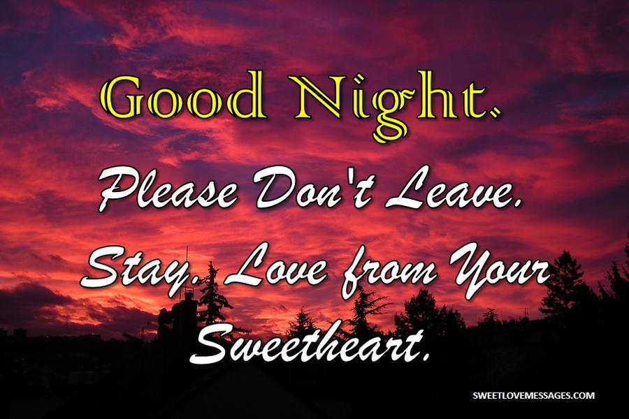 Goodnight Paragraphs to Your Crush