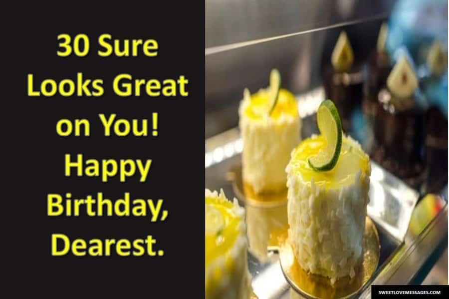 Happy 30th Birthday Wishes Friend