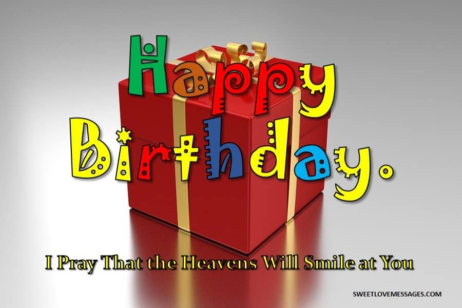 Happy Birthday Blessing Messages