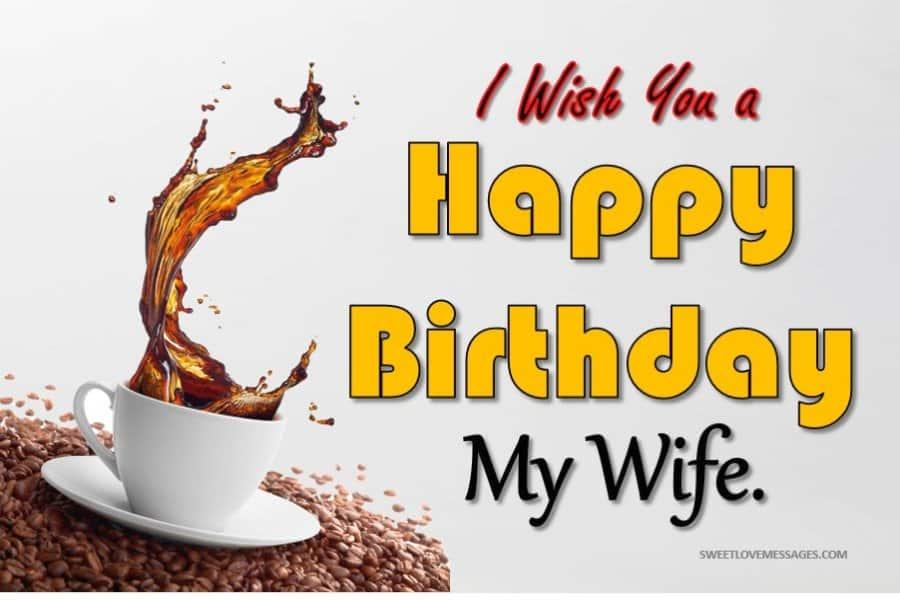 Happy Birthday to My Wife