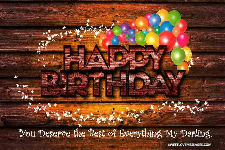 Happy Birthday to the One I Love