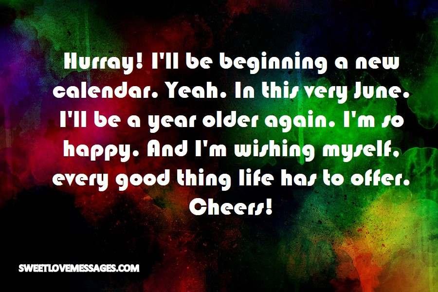 Hurray! I'll be beginning a new calendar