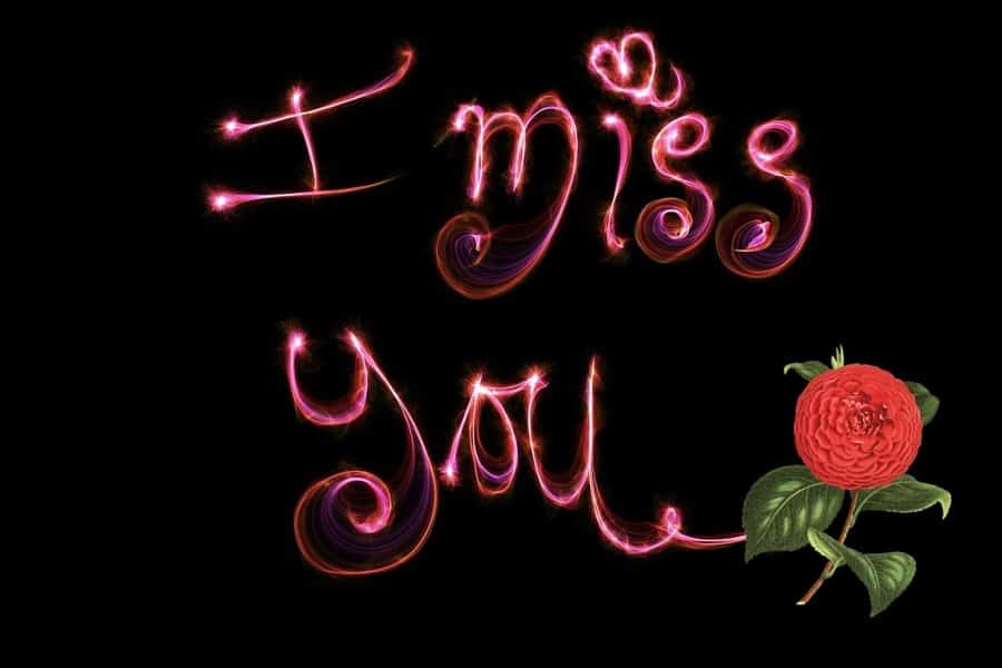 I Miss You Messages for My Husband